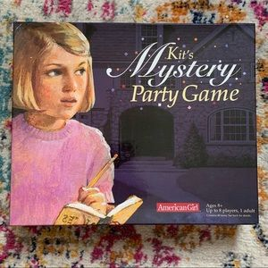 American Girl: Kit's Mystery Party Game